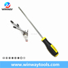 black and yellow slotted and philips hand tools high quality screwdriver set iwth magnetic tip