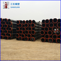 China supplier PE100 large diameter polyethylene pipe / hdpe pipe prices for irrigation