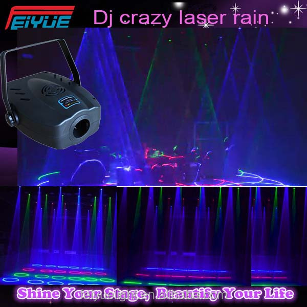 Professional Christmas Special Rain Effects Laser Lights