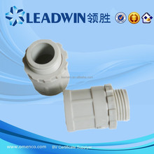 Plastic Plain to Screwed Male Adaptor with Emitter PVC Accessories