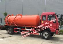 Sucção de esgoto Tanker Truck ouro príncipe SDRC Sinotuck vácuo caminhões 8 cbm a 10 cbm Hot vendas