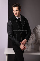 Korean Style High Quality Men Fashion Casual Wool Cashmere Jacket Coat