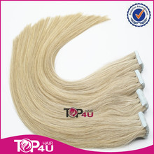 High quality adhesive remy hair extension tape
