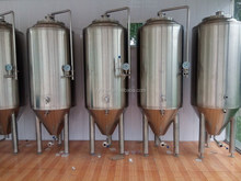 beer manufacturing machine 300L, micro brewery used