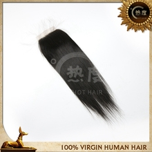 Best selling 2015 hot hair 100% human hair lace closures silk top lace hair closure piece