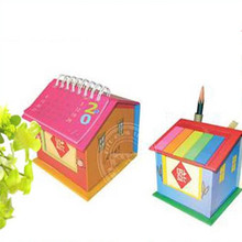 wholesale a lovely gift small notepad with pen with company logo