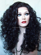 stock new fashion curly synthetic u part wig