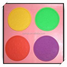 honeycomb shape silicone mat/pad for hot pot/bowl/pan