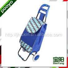 shopping trolley bag for gift nylon foldable bag