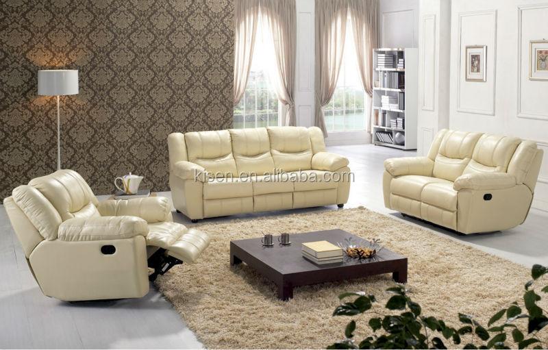 ea41 sala de estar de cuero moderno sofá cama de muebles sofa y ...