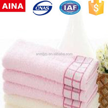 China Top 10 Towels' supplier high quality 100% cotton Jacquard weave white kitchen textile