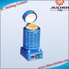 JC MINI graphite crucible gold/silver/copper melting furnace