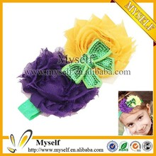 Wholesale DIY butterfly hair accessories baby crochet headband