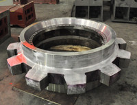 High quality large steel casting sprocket