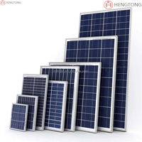 hot dealing goverment supplier 50w polycrystalline solar panel