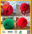 Top venta!! Nuevo rojo 2014 nariz de payaso/rojo pelota de esponja