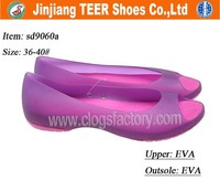 Women Fashion Jelly Shoes In EVA Sole Sandals For Ladies