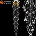 Sencillo y moderno de colgar la luz, moderno vestíbulo de cristal colgante luces om88505-500