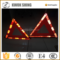 Wholesale red reflective warning triangle for emergency kits
