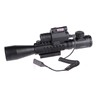 3-9x40E Red Green Dot Airsoft Riflescope Sight With M6 Red Laser Sight LED Flashlight