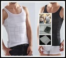 Mens waist shaper Vest Body Shaping Undergarment Elimination of Male Beer Belly