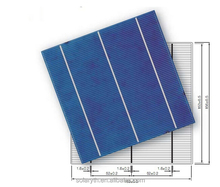 China Suppliers manufacture 156mm 4.23w 3BB Polycrystalline Solar Cell For Solar Panel