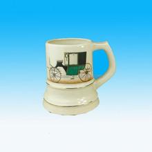 Hote sale ceramic beer mug stein