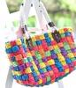 Extra Large Straw Handmade Pattern Beach Bag