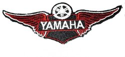 Iron-on Patch Motorcycles Yamaha Wings