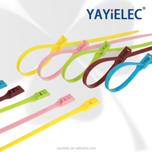 Different size plastic nylon cable tie