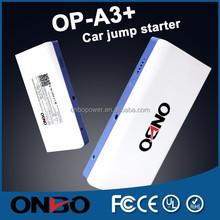 ONBO car tools booster battery 12v 16000mah jump starter power bank battery jump starter