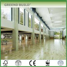 Wooden flooring for shcool sports hall