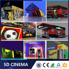 Newest Technology New Business Projects 5D Mini Movie Cinema