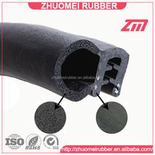 Car Door Bonnet Rubber Edge Trim Seal with metal