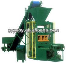 Low price hollow concrete block QTJ4-26 interlocking paver block machine/lightweight brick plant