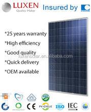 250W poly pv solar panel