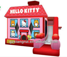 inflatale hello kitty bounce combo