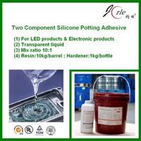 room temperature curing silicone encapsulating