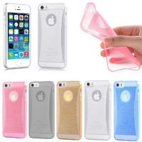 """Thin Crystal Glow Soft Silicone Back Cover Case Skin for Apple 4.7"""" iPhone 6 New"""