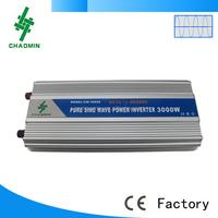 12v 220v ups pure sine wave Off grid solar inverter with battery charger 3kw