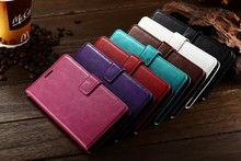 OEM Factory Flip PU Leather Mobile Phone Case For LG G3