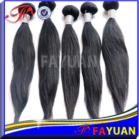 Factory price wholesale unprocessed yaki straight virgin remy human 7a cheap malaysian straight braid