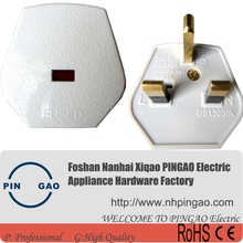 13 Amp 3 Pin Plug BS1363 Fuse Type G Uk Plug Electrical Plug Adapter