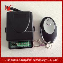 rf remote control wiht 1 channel receiver 220v AC