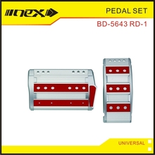 Manual Aluminum Automobile Pedal Pad Set