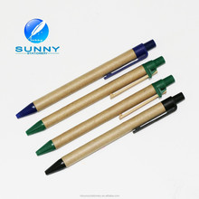 high quality eco recycled paper ballpoint pens