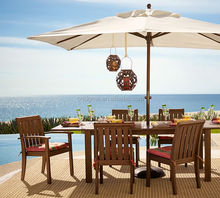 Teak wood table chair designs malaysian wood dining table sets with umbrella