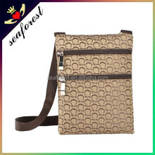 China supplier cheap custom made cheap sling bags single strap shoulder bags