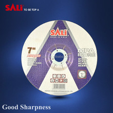 T27 SALI 180x6x22.2mm metal bond diamond grinding abraive disc with en12413