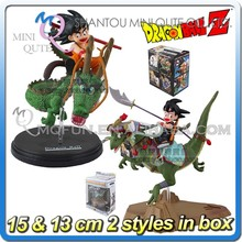 MINI QUTE 15 cm 2 styles Goku on dragon ball z anime action figures models brinquedos boys gifts/toys for children NO.MQ 112